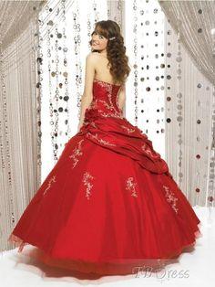 Red Sweet 16 Dress
