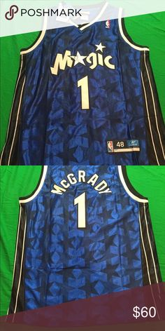 4d3a4ffdcb9 For Sale - NIKE Team NBA Orlando Magic Tracy McGrady  1 Jersey Size XL -  See More At http   sprtz.us MagicEBay