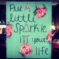 Put a little sparkle in your life! #ADPi