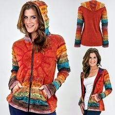 Sunshine Daydream Hooded Jacket at The Animal Rescue Site