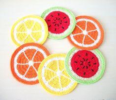 coasters salada de frutas