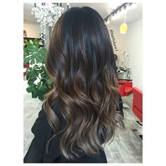 Image result for dark ash brown hair