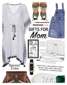 """""""Just for Mom and Little Sister"""" by zafiaida ❤ liked on Polyvore featuring Velvet, Malden International Designs, Morphe and Marc Jacobs"""
