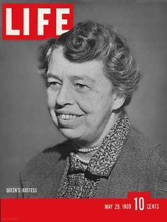 LIFE Magazine (May 29, 1939) ~ Eleanor Roosevelt
