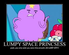 lumpy space princess meme