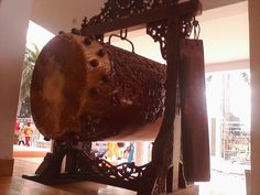 Bedhug (Java; Indonesia) - Bedug commonly used in mosques in Java among Javanese and Sundanese people to preclude the adzhan as a sign for prayer, or during Islamic festivals. For example, bedug is used to signal the end of the daylong fast during Ramadan. When used to signal time for Friday prayer, bedug is beaten in a different way than in ordinary prayers.