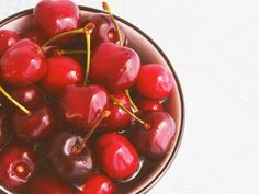 Cherries in a bowl by Life Morning Photography on Creative Market
