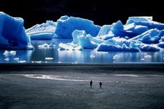 Patagonia, Chile - but I better get there soon cause this is melting faster than any other place on earth :-(