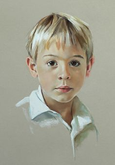 Pastel portrait by Portraits, Inc. artist