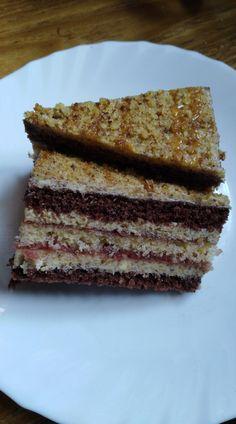 Žiarske rezy... Desserts, Cakes, Food, Tailgate Desserts, Deserts, Cake Makers, Kuchen, Essen, Postres