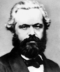"""While Marx's latter-year muttonchops carried a certain bourgeois """"Father Christmas"""" vibe, his pre-Manifesto beard boasted just the right lustre of revolutionary angst. Need to try this style!"""