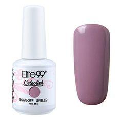 Elite99 Gelpolish Soak Off UV LED Gel Nail Polish Lacquer 15ml Elderberry (1579)