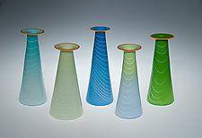 Spring Vase by David J. Benyosef (Art Glass Vase)