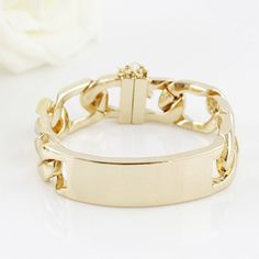 Simple Modern Style Solid Color Design Openwork Alloy Bracelet For Women, AS THE PICTURE in Bracelets | DressLily.com