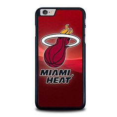 Miami-Heat-Logo, Print on Hard Cover iPhone Black Case 6s Plus Case, Iphone 6 Plus Case, Iphone 4, Iphone Cases, Miami Heat Logo, Samsung Galaxy S3, Heat Fan, Cover, Accessories