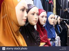 Dubai, United Arab Emirates, Islamic Dressed Mannequins Stock Photo, Royalty Free Image: 94655385 - Alamy