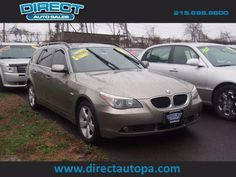 2006 #BMW 5 Series AWD 530xi 4dr #Wagon with 94,325 miles at $11,100   #cardealer #preowned #certified Auto Sales, Cars For Sale, Philadelphia, Bmw, Vehicles, Cars For Sell, Car, Philadelphia Flyers, Vehicle