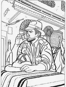 Indiana indiana jones and coloring on pinterest for Indiana jones coloring pages