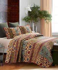 Look what I found on #zulily! Bellina Ranchipur Quilt Set by Hedaya Home Fashions #zulilyfinds