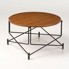 BBPR Attributed; Coffee Table, 1950s.
