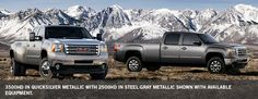 GMC Sierra 3500HD Pickup Truck Exterior - to tow our fifth wheel