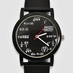 Equation Watch--(Please Follow (2) Design-Modern-Furniture-Objects For New Pins)