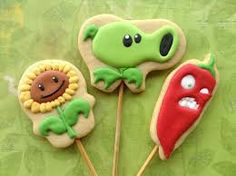 plants vs zombies cookies - Buscar con Google