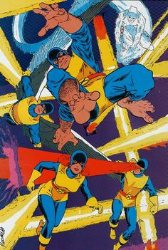 The Original X-Men by Marshall Rogers
