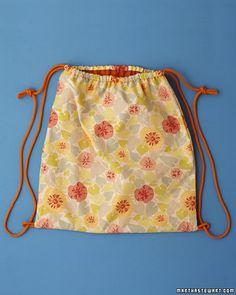 Easy Beach Bag - Martha Stewart Kids' Crafts