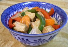 SWEET & SOUR PORK STIR FRY VARIATION - Linda's Low Carb Menus & Recipes