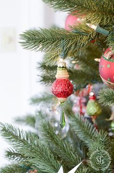 Sparkle Crystal Drop Ornaments