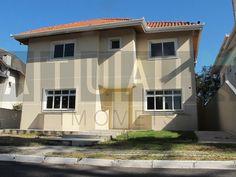 Fachada | Casa em Condomínio | São Bras | 4 suítes 420m2 | Quer conhecer? (41) 4106-7799 | contato@atuais.com.br | Whatsapp (41) 9595-0002