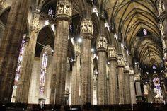 Interior da Catedral de Milão - Itália