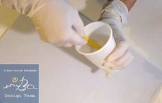 Cómo usar resina epoxi dos componentes transparente Ice Resin, tutorial.