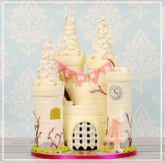 Princess Castle - Cake by Ula