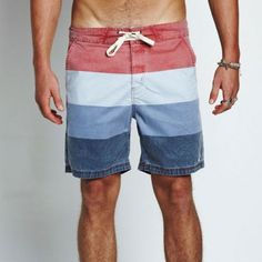 Zanerobe Tallows Boardshort in Red