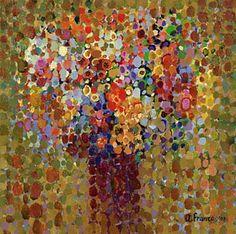 work by Angelo Franco -- hyper-pointellism!  -- love it!
