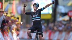 Chris Froome vence 8ª etapa do Tour de France e assume liderança