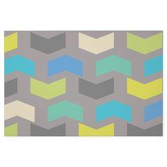 Muted chevron pattern