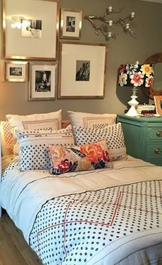 #anthrofave when my bedroom made it on the Anthro website and then ended up on Pinterest.
