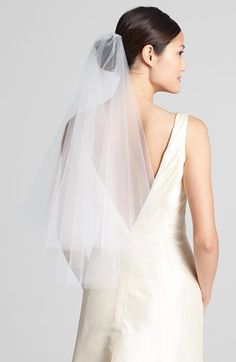 Wedding Belles New York 'Madeline - Crystal' Two Tier Veil