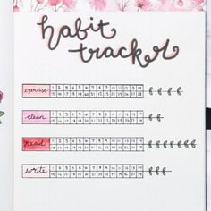 Floral Bullet Journal Ideas Will Bring Out The Romantic In You Floral Bullet Journal Ideen werden die Romantik in Ihnen hervorbringen Bullet Journal Fait, Bullet Journal Inspo, My Journal, Journal Pages, Beginner Bullet Journal, Bullet Journal Japan, Bullet Journal Exercise Tracker, Bullet Journal Layout Ideas, Bullet Journal Ideas How To Start A
