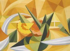 Giacomo Balla (1871-1958) Landscape Force Lines 1918 (31 by 41,3 cm)
