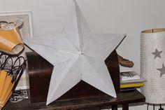 Outi's life: Tähtiä osa2 Big star decoration