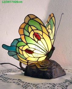 Butterfly Tiffany Lamp	A5-26TB2C