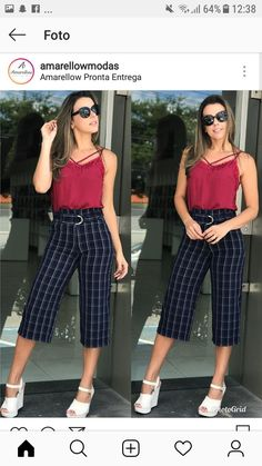 Lany, Sewing Clothes, Capri Pants, Plus Size, Street Style, Womens Fashion, Outfits, Tops, Dresses