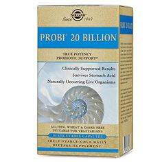 Solgar Probi 20 Billion Vegetable Capsules, 30 Count >>> Check out this great product.