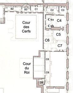 Appartement de l'attique Nord de Mme de Pompadour