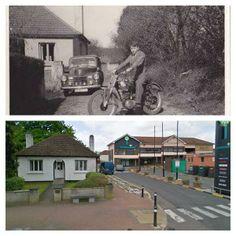 A scene from Blanchardstown, Co Dublin, over Sixty years apart via David McGuinness  David McGuinness Dublin Street, Old Photos, Paths, Ireland, David, Scene, Mansions, History, House Styles