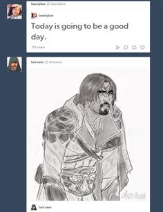 Ezio must be so done when he often ends in Tiber, Arno or Venice's canals trying to escape the guards. So sorry Ezio, I never intend to jump into the water. Arno Victor Dorian, Assassins Creed Comic, Assassin's Creed I, Gaming Memes, Legend Of Zelda, Nerdy, Video Game, Fan Art, Fandoms